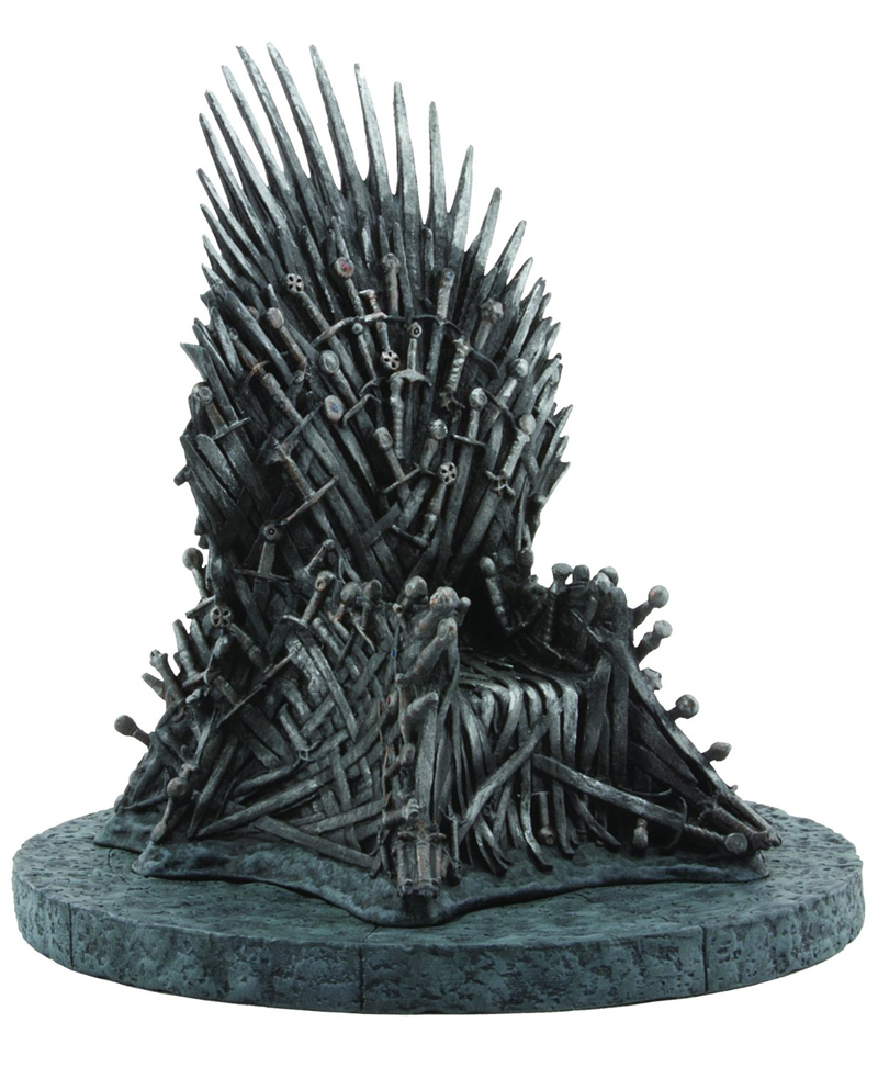 Game of thrones chair replica - Game Of Thrones Iron Throne 7 Inch Miniature Resin Replica