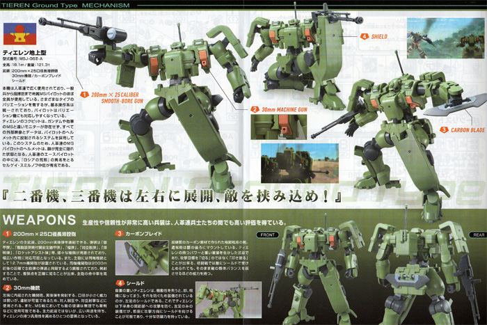 Image result for HG 1/144 #05 Tieren Ground Type