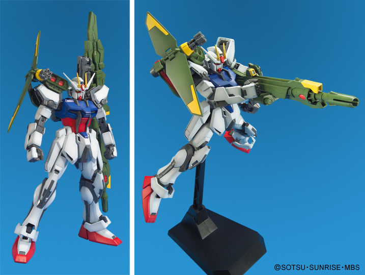 Bandai launcher sword strike gundam master grade mg