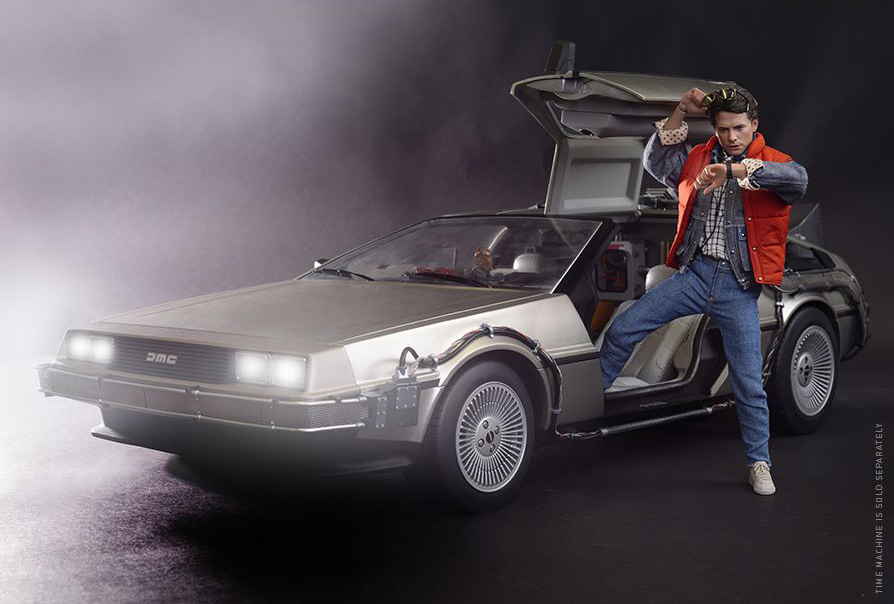 Hot Toys 1 6 Back To The Future Marty Mcfly Standard
