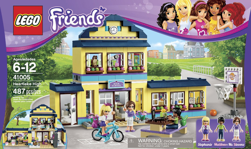 lego friends heartlake high - photo #22