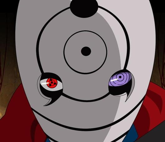 naruto obito uchiha tobi sharingan rinnegan eye 2pcs cosplay