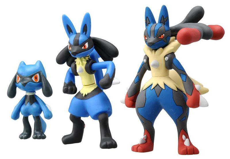 Pokemon xy mega ring syncher system lucario mega evolution pack action figure ebay - Evolution pokemon xy ...