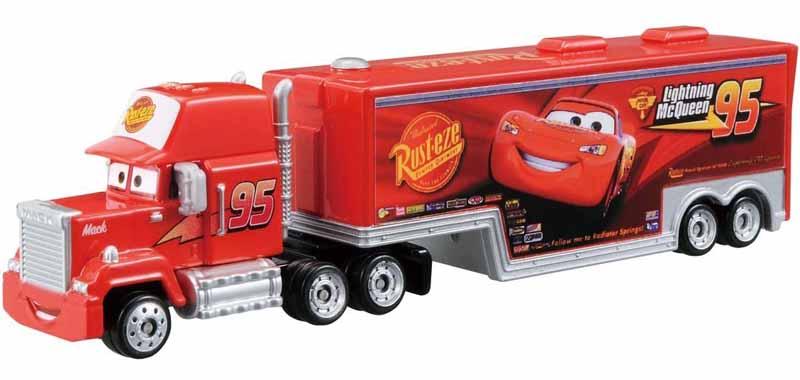 Tomica diecast disney pixar cars mack trailer truck hauler for Ebay motors car trailers