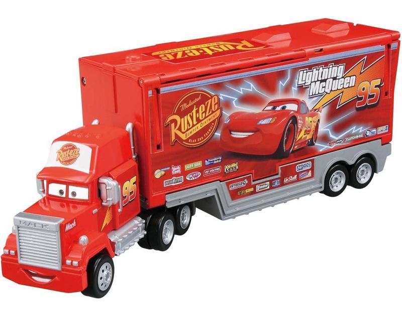 TOMICA DIECAST Disney Pixar Cars Mack Trailer Truck Hauler ...