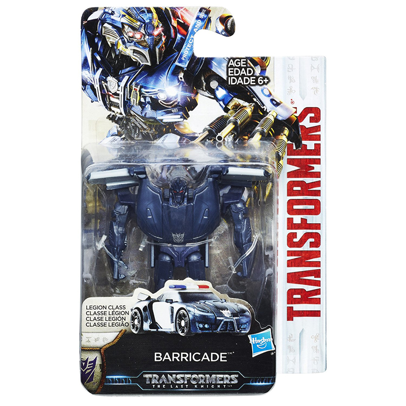 transformers 5 the last knight movie premier edition legion barricade figure new ebay. Black Bedroom Furniture Sets. Home Design Ideas