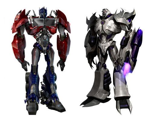Transformers prime animated dvd entertainment pack optimus - Transformers cartoon optimus prime vs megatron ...