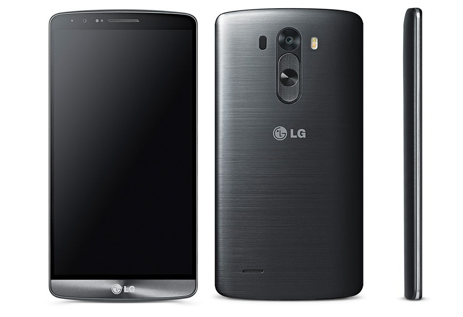 Lg – G3 4G Lte Cell Phone – Metallic Black